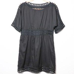 Cynthia Steffe | Laser Cut Midi Dress